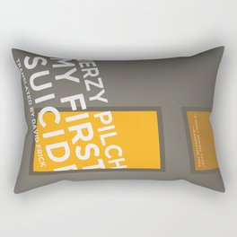 My First Suicide Rectangular Pillow