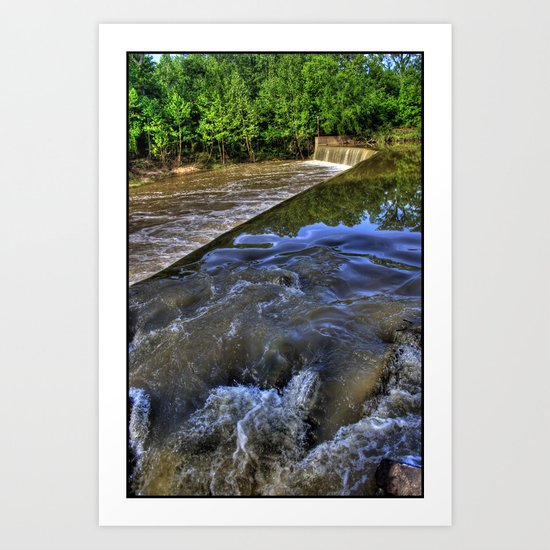 Water to Fall... Art Print