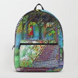The Victorian Gazebo Sketched Backpack