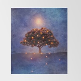 Energy & lights Throw Blanket