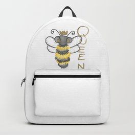 Cute Watercolour Queen Bee Backpack