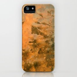 Jack Frost, the icy sunrise iPhone Case