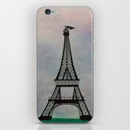 Eiffel Tower at Dusk iPhone Skin