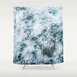 Waves in Abstract Shower Curtain