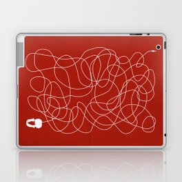 Headphone Maze Laptop & iPad Skin