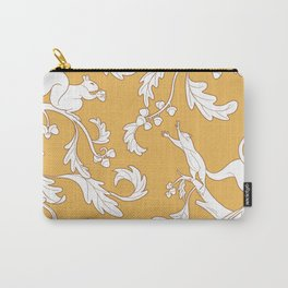 Squirrels and Acorns Pattern Carry-All Pouch