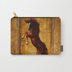 Awesome wild horse Carry-All Pouch