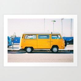 Van Life III Art Print
