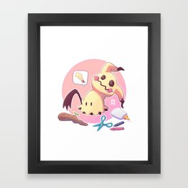 Mimikyu Framed Art Print