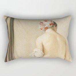 "Jean-Auguste-Dominique Ingres ""The Little Bather (sketch)"" Rectangular Pillow"