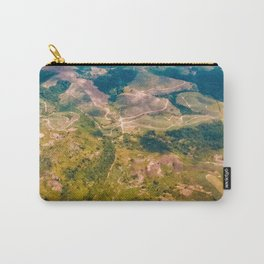 Land from the sky Carry-All Pouch