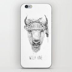 Wild one iPhone & iPod Skin
