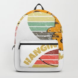 Hangin' in there since Monday Cat for Kitty Fans Backpack