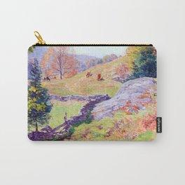 Willard Metcalf Hillside Pastures Carry-All Pouch