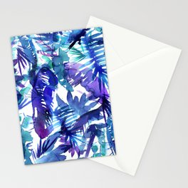 Vibe of the JUNGLE  {B-Blue} Stationery Cards