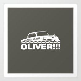 Top Gear: Oliver Art Print