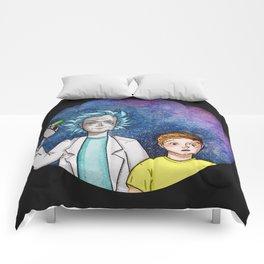 Wubba Lubba Dub Dub Comforters