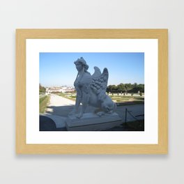 Belvedere Sphinx Framed Art Print