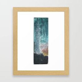 dark landscape Framed Art Print