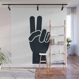 Peace Sign, Do Good B&W Wall Mural