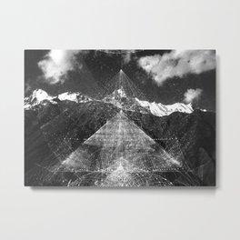 Black Mountain Metal Print