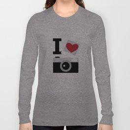 I love camera Long Sleeve T-shirt