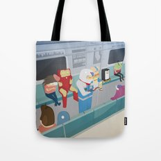 The Nick Yorkers in January Tote Bag