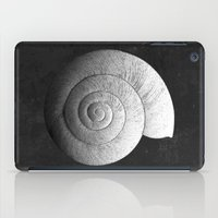 shell iPad Cases featuring Shell by Studio Art Prints