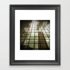 Skycrapers Framed Art Print