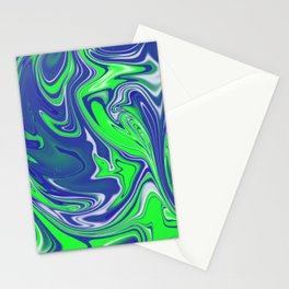 Fluo Meltdown Stationery Cards
