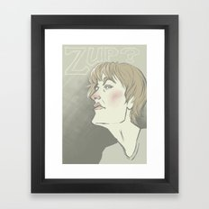 Hey there Framed Art Print