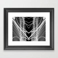 light painting Framed Art Print