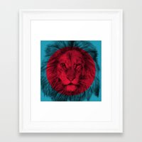 eric fan Framed Art Prints featuring Wild 5 by Eric Fan & Garima Dhawan by Garima Dhawan