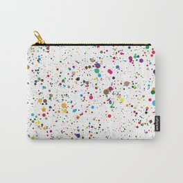 Confetti Paint Splatter Carry-All Pouch