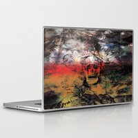 fear Laptop & iPad Skins featuring FEAR by sametsevincer