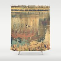 lonely Shower Curtains featuring Lonely by Rose Etiennette