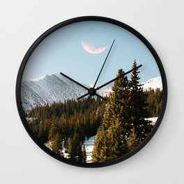 Daylight Moon Wall Clock