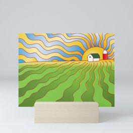 Iowa Cornfield Mini Art Print
