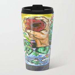 Magical Apple Watercolor Painting Travel Mug