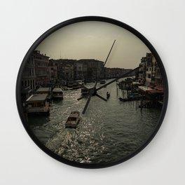 canal grande Wall Clock