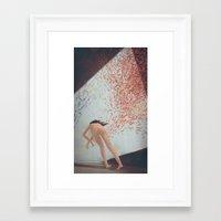 murakami Framed Art Prints featuring Eva Is Inside Her Cat by Anton Marrast