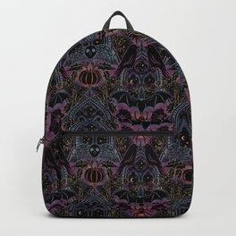 Gothic Halloween - celestial rainbow  Backpack