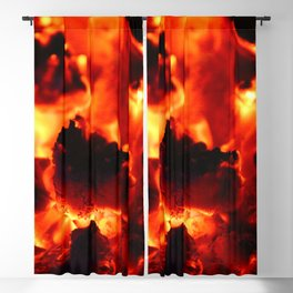 Hot Embers Blackout Curtain