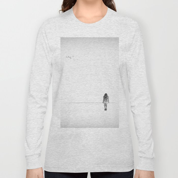 on the wire Long Sleeve T-shirt