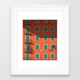 Shyness Framed Art Print