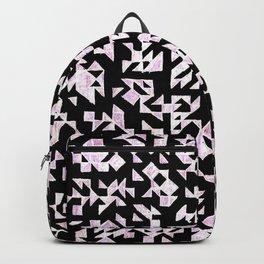 Inverted Black and White Randomness Backpack