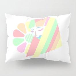 Pastel Melancholy in Spring Pillow Sham