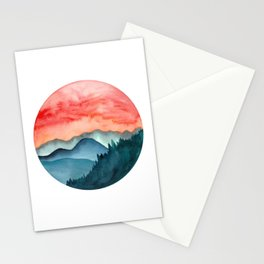 Mini dreamy landscape II Stationery Cards