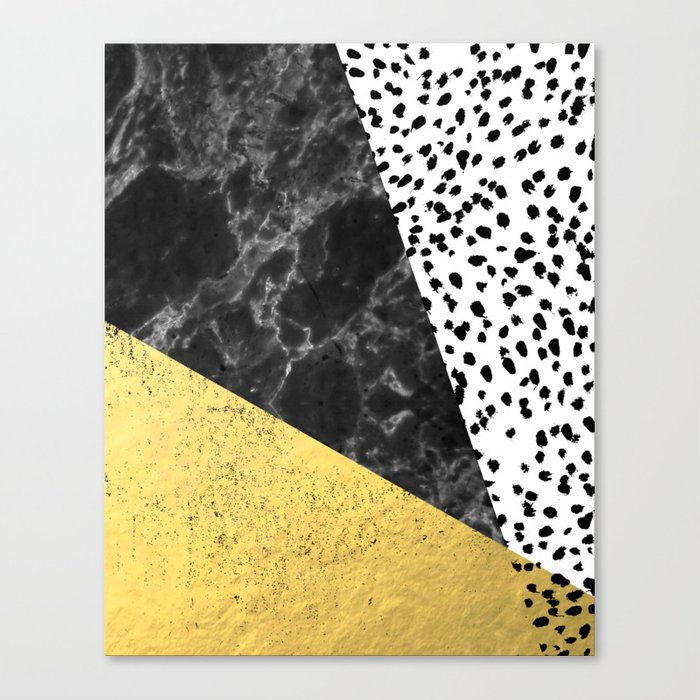 Mele - gold abstract painting art decor dorm college trendy hipster ...