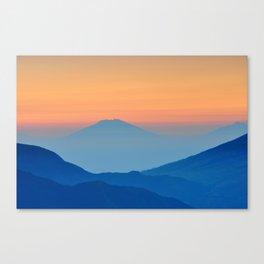 Orange Valley #mountains Canvas Print